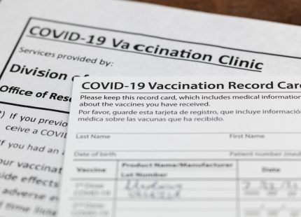 Vaccination Requirement When Submitting Form I-693